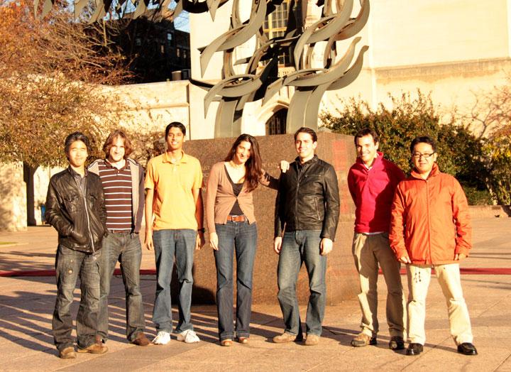 Rio Yokota, Simon Layton, Anush Krishnan, L Barba, Felipe Cruz, Christopher Cooper, Tsuyoshi Hamada.