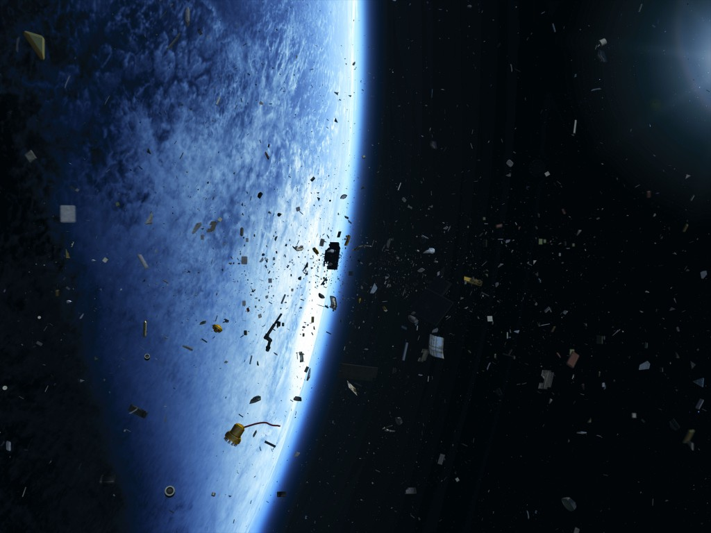 Space debris, in an image released by the European Space Agency on 05/06/2013, ID #292643