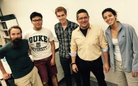 group photo with Fernando Perez